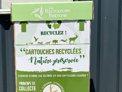 Chasseurs recyclez vos cartouches